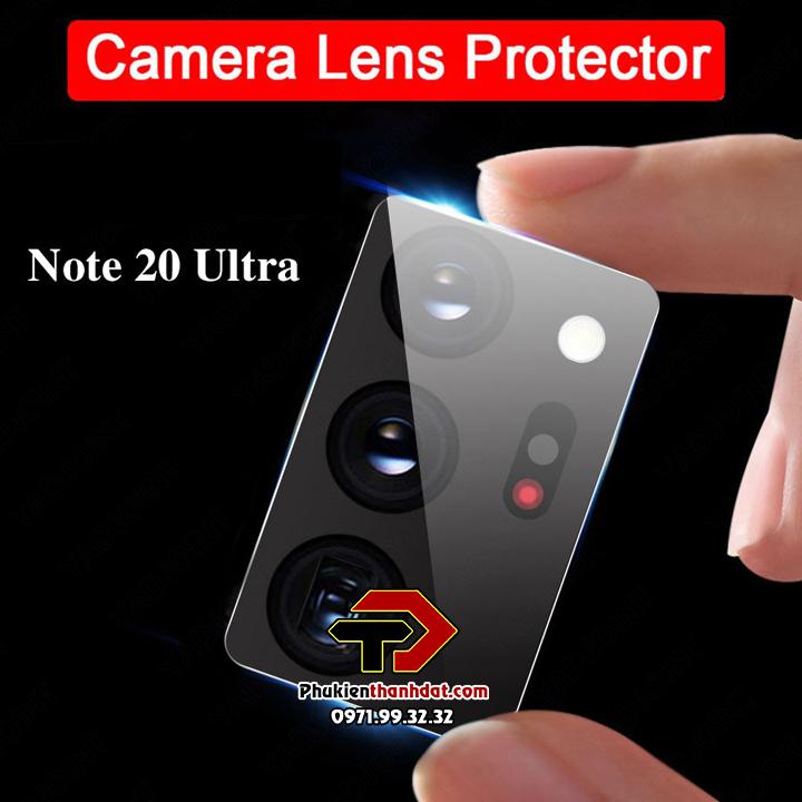 Tấm dán kính cường lực bảo vệ Camera SamSung Galaxy Note 20 Ultra