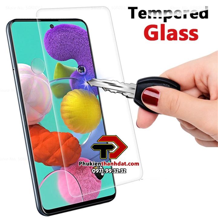 Tấm dán kính cường lực SamSung Galaxy A71 hiệu Glass Pro