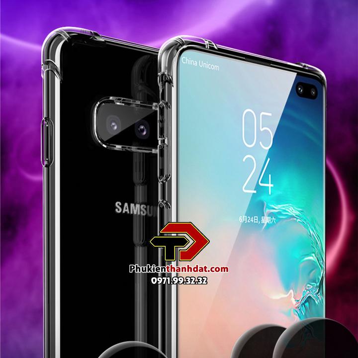 Ốp lưng dẻo trong chống sốc SamSung Galaxy S10 5G
