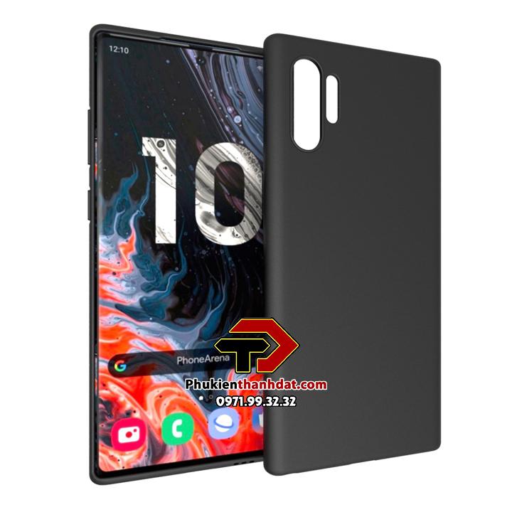 Ốp lưng silicon dẻo màu SamSung Galaxy Note 10 Plus