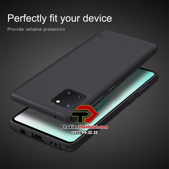 Ốp lưng SamSung Galaxy Note 10 Lite chính hãng Nillkin