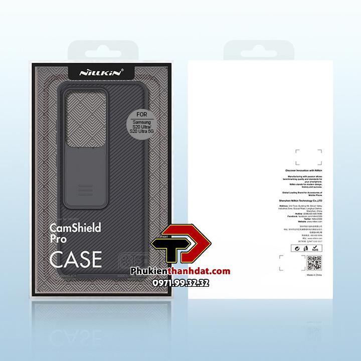 Ốp lưng bảo vệ Camera SamSung Galaxy S20 Ultra chính hãng NILLKIN CamShield