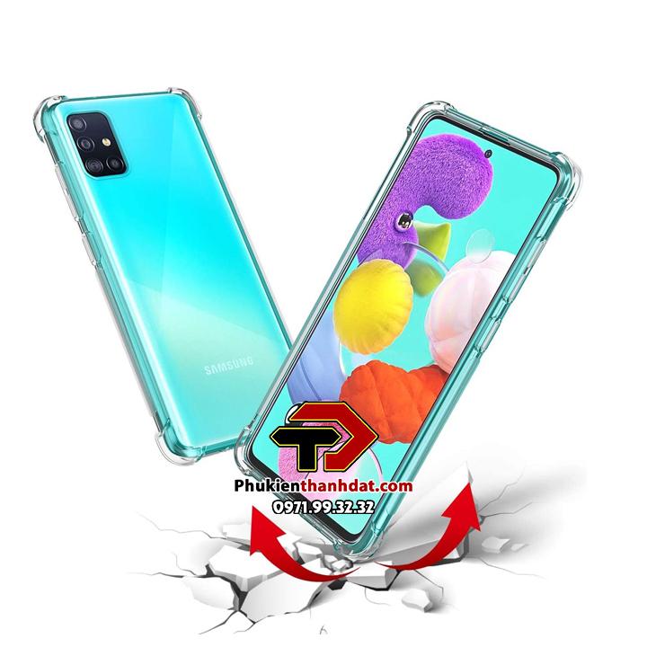Ốp lưng dẻo trong chống sốc SamSung Galaxy A51