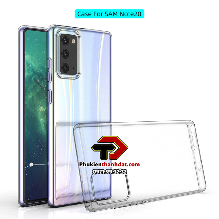 Ốp lưng silicon dẻo trong suốt SamSung Galaxy Note 20