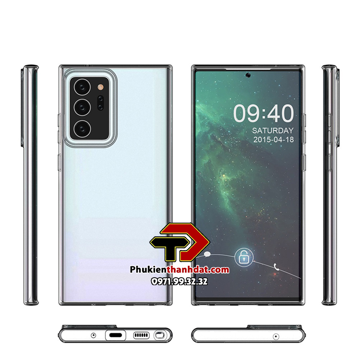 Ốp lưng silicon dẻo trong suốt SamSung Galaxy Note 20+ Plus