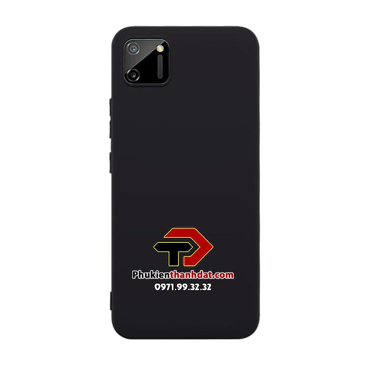 Ốp lưng Realme C11 dẻo màu đen