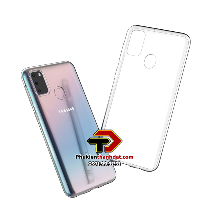 Ốp lưng silicone dẻo trong suốt SamSung Galaxy M21