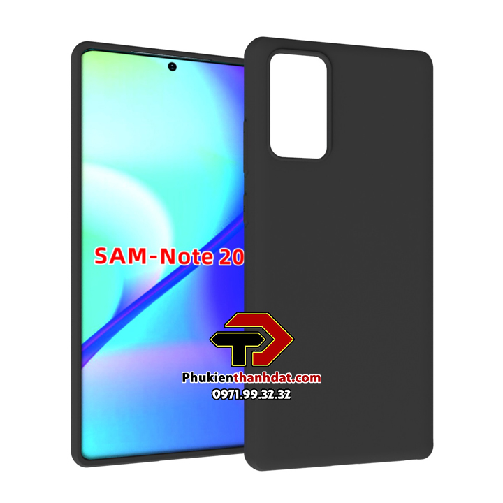 Ốp lưng SamSung Galaxy Note 20 dẻo màu đen