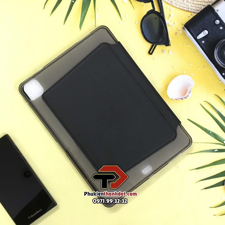 Bao da iPad Pro 12.9 2020 chính hãng Onjess lưng silicone mềm
