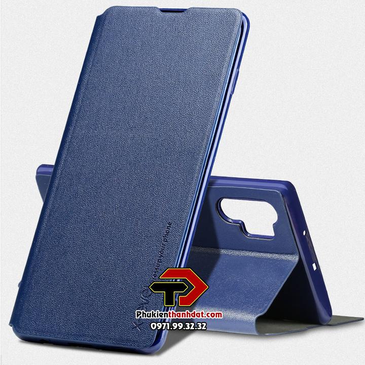 Bao da SamSung Galaxy Note 10 Plus chính hãng FIBCOLOR PIPILU X-Level