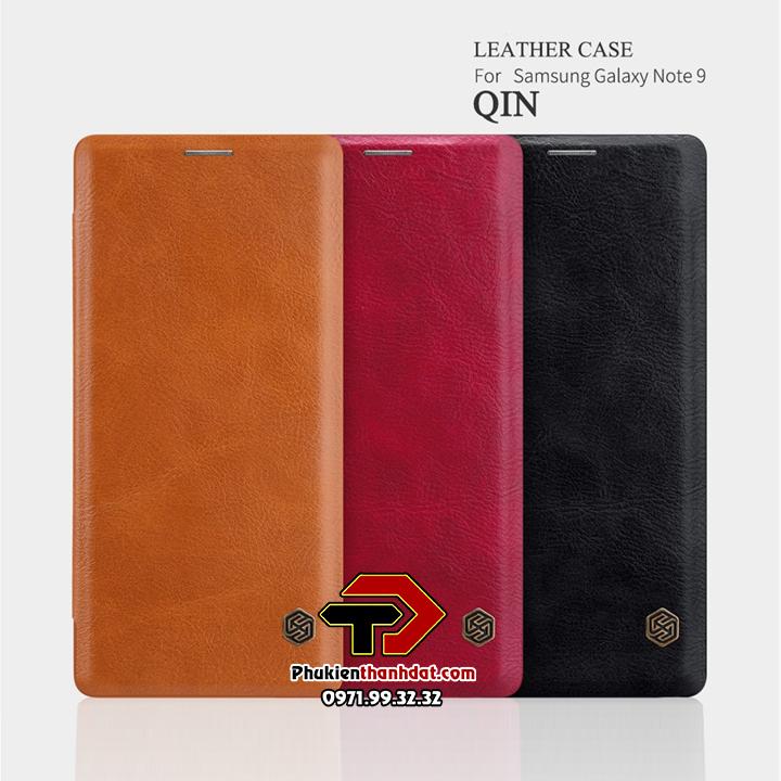 Bao da SamSung Galaxy Note 9 chính hãng Nillkin QIN