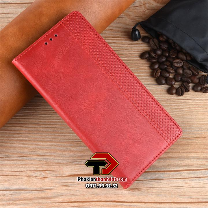 Bao da dạng ví OPPO F15 Wallet Leather Case