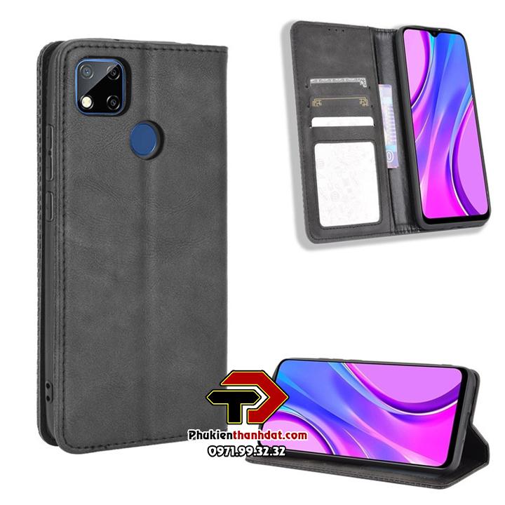Bao da dạng ví Xiaomi Redmi 9C Wallet Leather Case