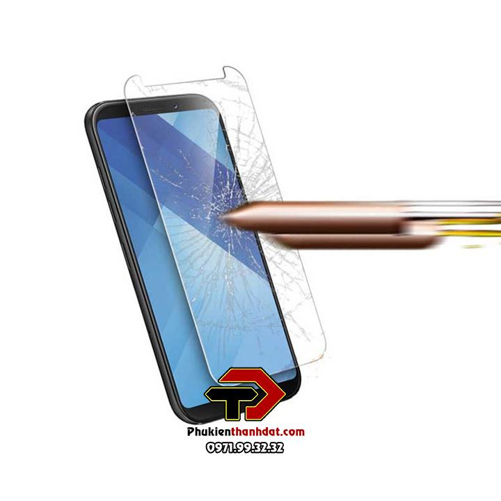 Tấm dán kính cường lực SamSung Galaxy A6+ Plus hiệu Glass Pro