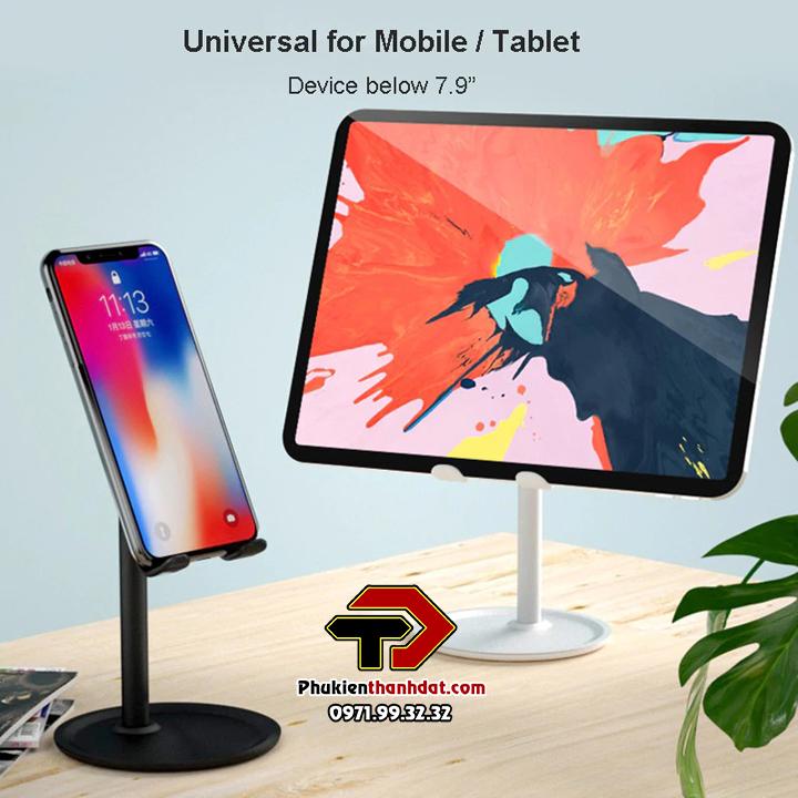 Giá đỡ điện thoại, máy tính bảng trên mặt bàn K1