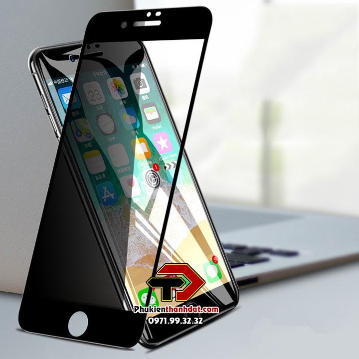 Tấm dán cường lực full màn hình chống nhìn trộm iPhone 7 Plus