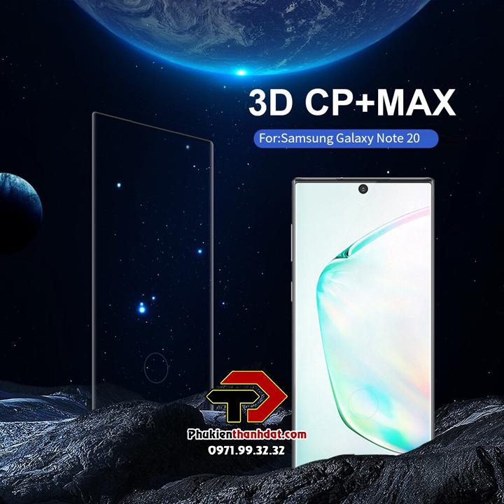 Tấm dán kính cường lực full màn SamSung Galaxy Note 20 chính hãng Nillkin CP+ MAX