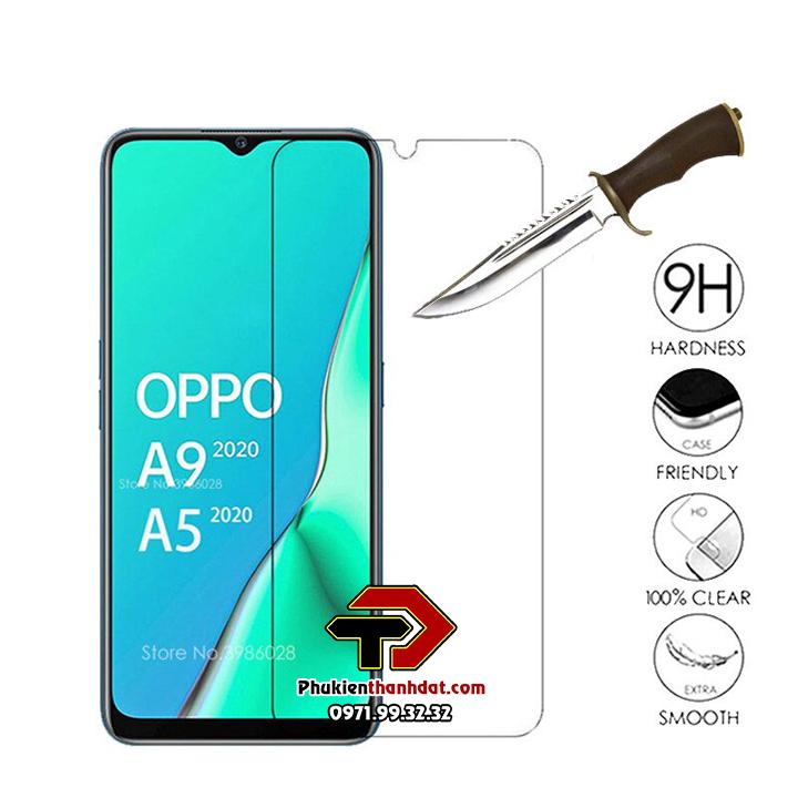 Tấm dán kính cường lực OPPO A9 2020 hiệu Glass Pro