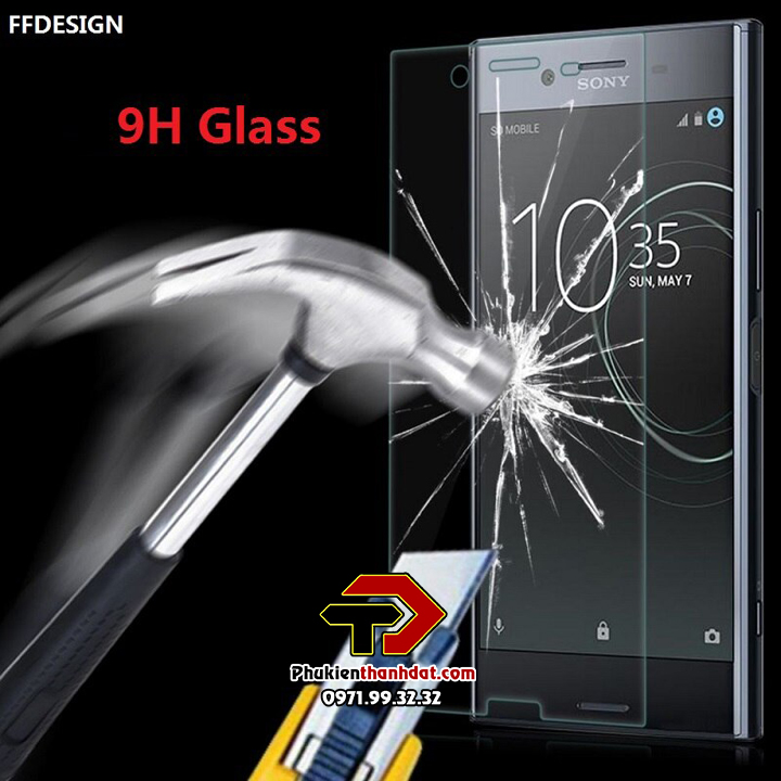 Tấm dán kính cường lực Sony XZ Premium hiệu Glass Pro