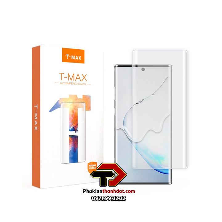 Kính cường lực UV full màn hình Samsung Galaxy Note 20 Ultra chính hãng T-MAX