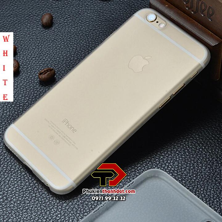 Ốp lưng lụa iPhone 6, 6s siêu mỏng bảo vệ Camera