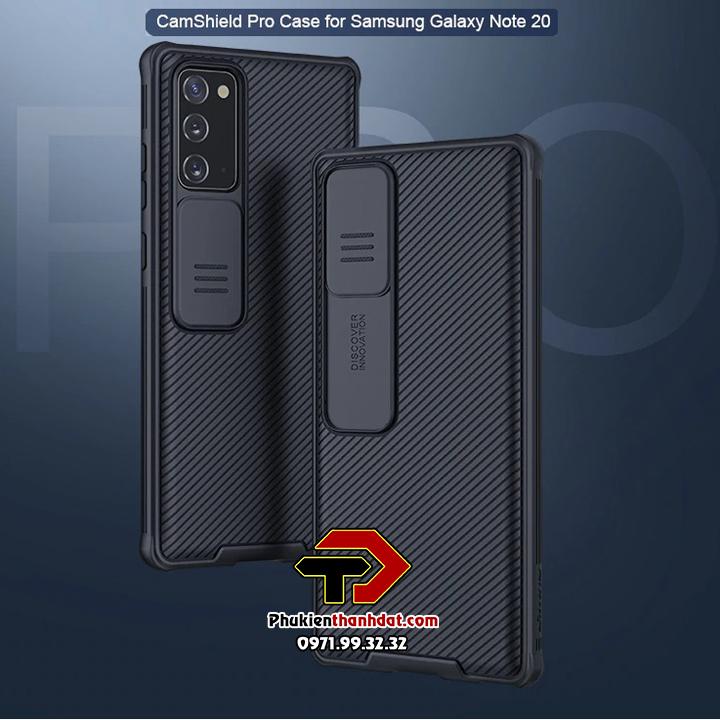 Ốp lưng bảo vệ Camera SamSung Galaxy Note 20 chính hãng NILLKIN CamShield