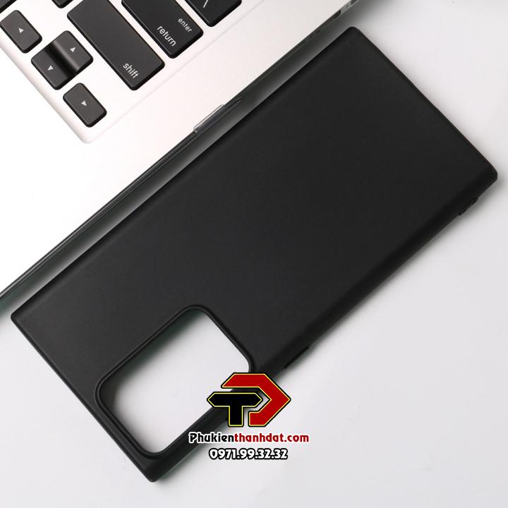 Ốp lưng silicon màu SamSung Galaxy Note 20 Ultra siêu mỏng chính hãng Ou Case