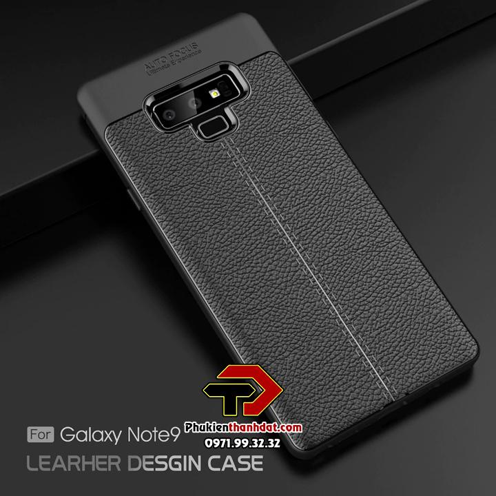 Ốp lưng SamSung Galaxy Note 9 silicon giả da Auto Focus