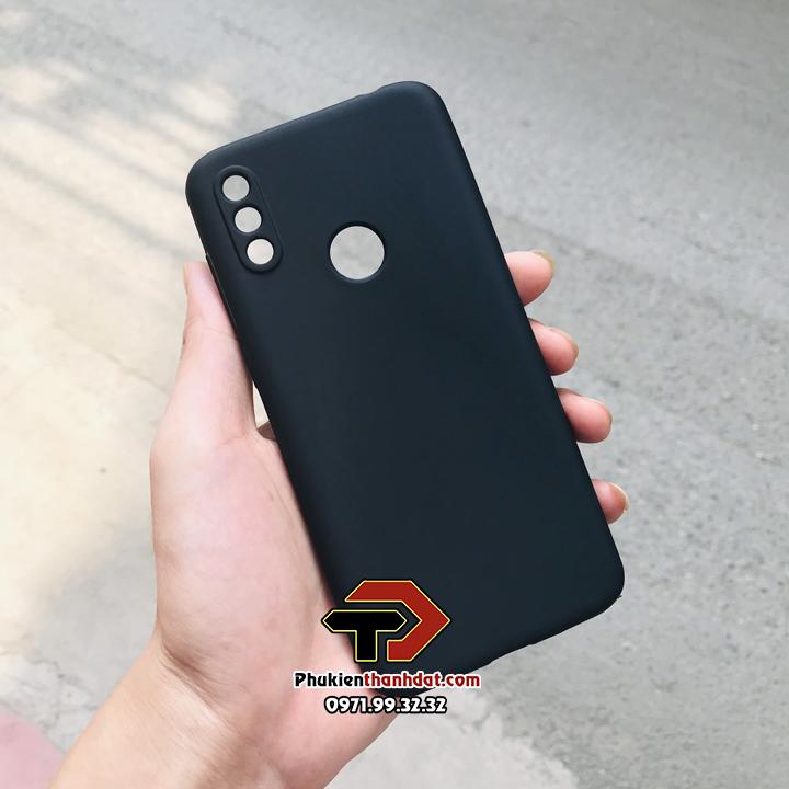 Ốp lưng Vsmart Star 3 silicone dẻo màu đen bảo vệ camera