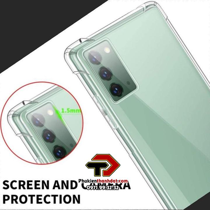 Ốp lưng dẻo trong chống sốc SamSung Galaxy Note 20