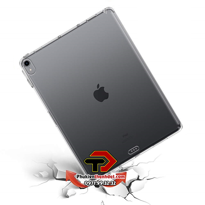 Ốp lưng silicone dẻo trong suốt iPad Pro 11 2018
