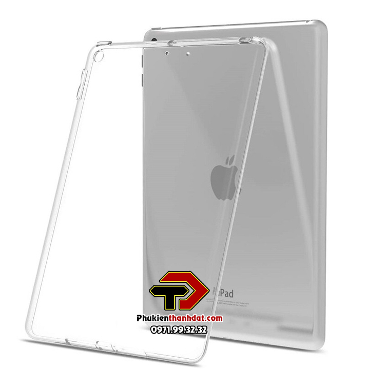 Ốp lưng silicone dẻo trong suốt iPad Air, iPad 5