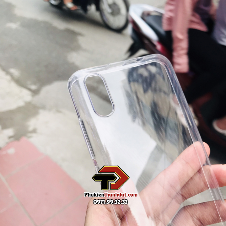 Ốp lưng Vsmart Live 4 silicone dẻo trong suốt