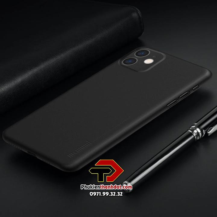 Ốp lưng lụa iPhone 11 chính hãng Memumi