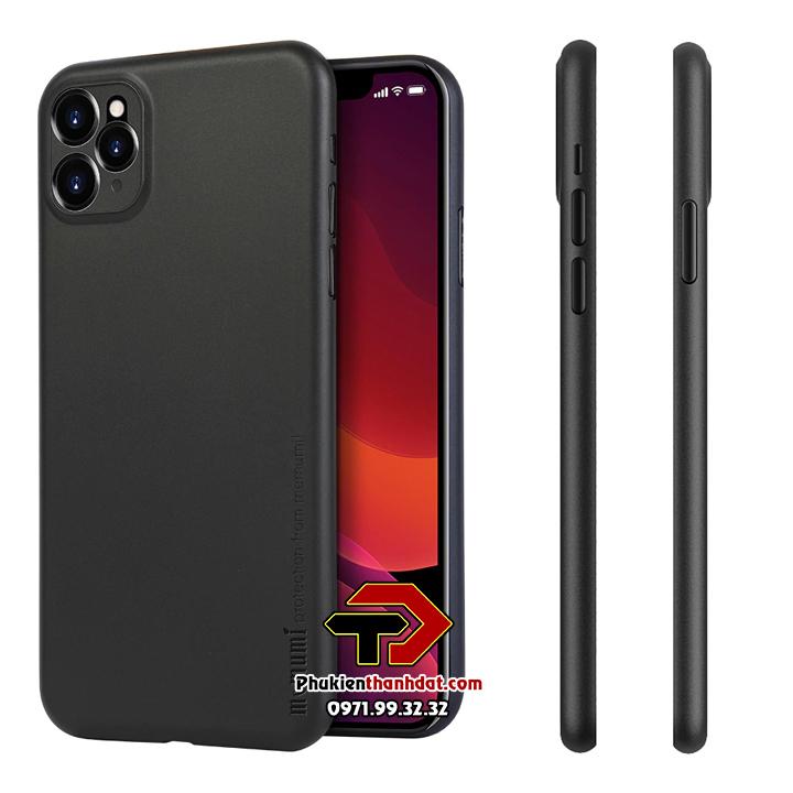 Ốp lưng lụa iPhone 11 Pro chính hãng Memumi