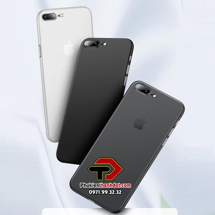 Ốp lưng lụa iPhone 7 Plus siêu mỏng bảo vệ Camera