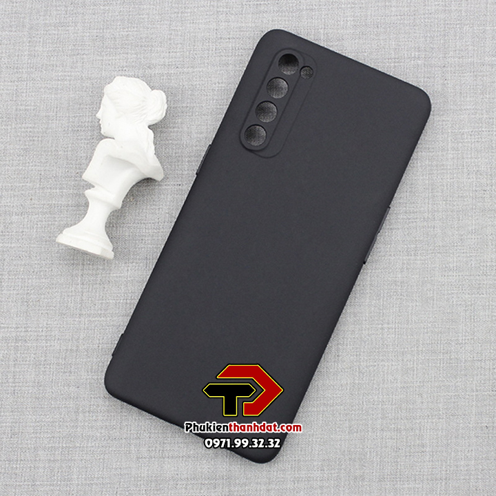 Ốp lưng OPPO Reno4 Pro dẻo màu đen