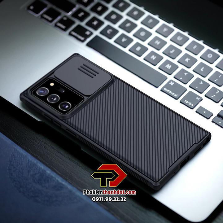 Ốp lưng bảo vệ Camera SamSung Galaxy Note 20 Ultra chính hãng NILLKIN CamShield