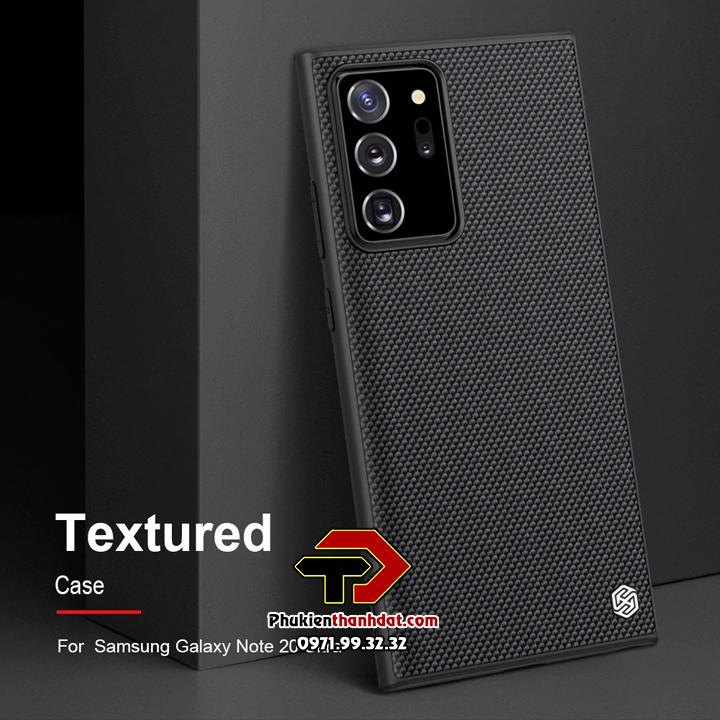 Ốp lưng SamSung Galaxy Note 20 Ultra chính hãng Nillkin Textured Case