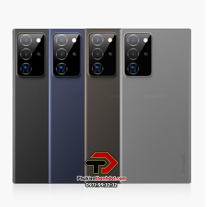 Ốp lưng lụa SamSung Galaxy Note 20 Ultra chính hãng Memumi siêu mỏng bảo vệ Camera