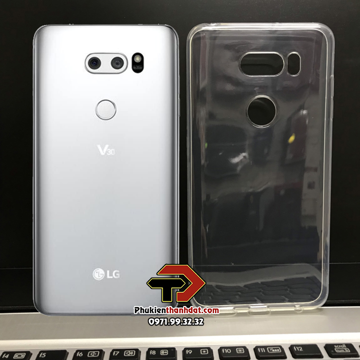 Ốp lưng LG V30 silicone dẻo trong suốt