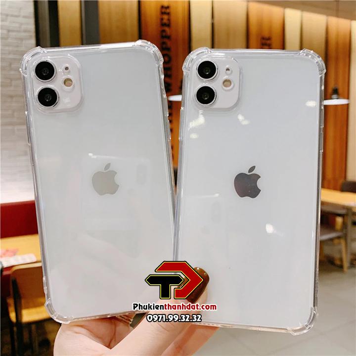 Ốp lưng dẻo trong chống sốc iPhone 11