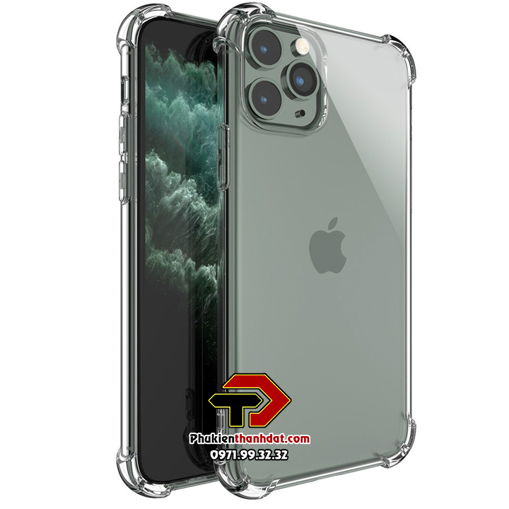 Ốp lưng dẻo trong chống sốc iPhone 11 Pro