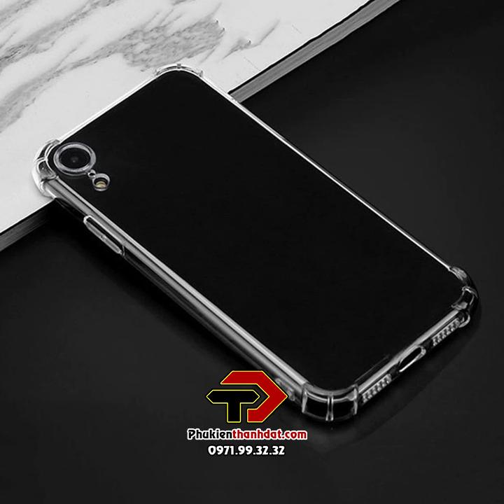 Ốp lưng dẻo trong chống sốciPhone XR