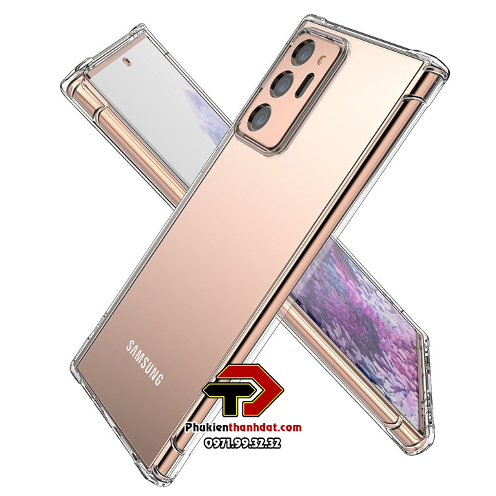 Ốp lưng dẻo trong chống sốc SamSung Galaxy Note 20 Ultra