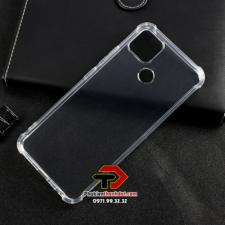Ốp lưng OPPO Realme C12 trong suốt chống sốc