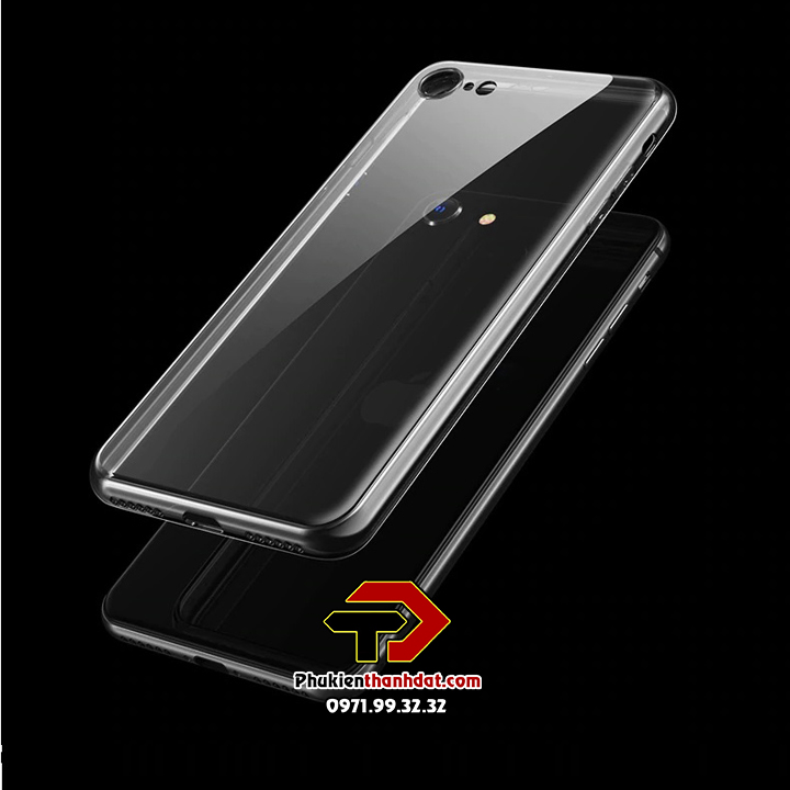 Ốp lưng silicone dẻo trong suốt iPhone 7