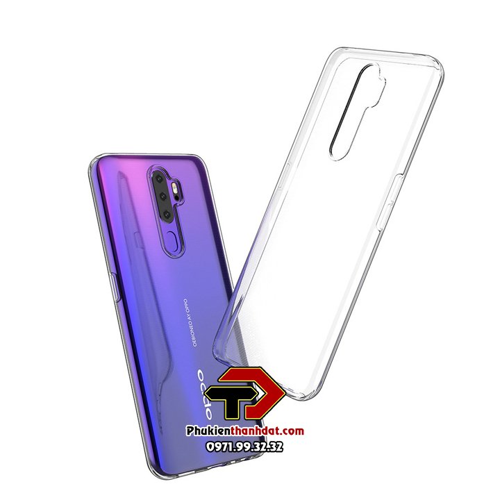 Ốp lưng OPPO A5 2020 dẻo trong suốt