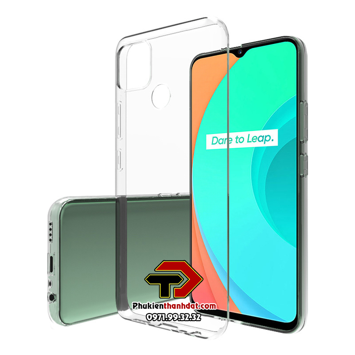 Ốp lưng OPPO Realme C12 silicone dẻo trong suốt