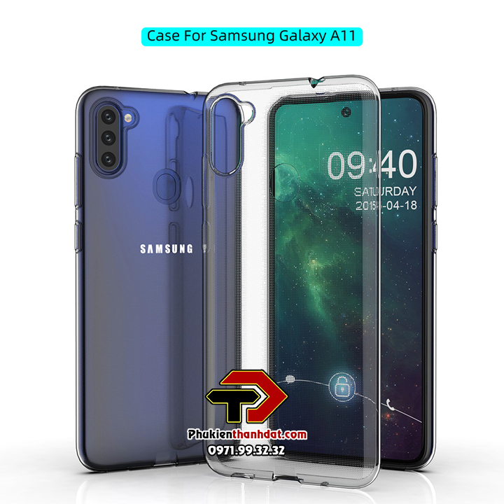 Ốp lưng SamSung Galaxy A11 dẻo trong suốt